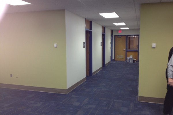 Holmstedt Hall Renovations for Office of Sponsored Programs